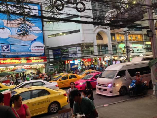 Bangkoki csúcsforgalom