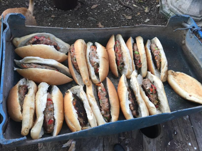 Tálalva a kutya ebéd is :)
