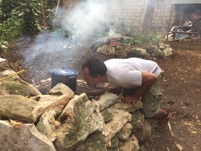 Gerardo, a tűzfelelős
